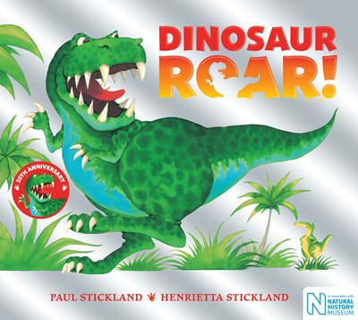 Book cover for Dinosaur Roar! 25th Anniversary Edition