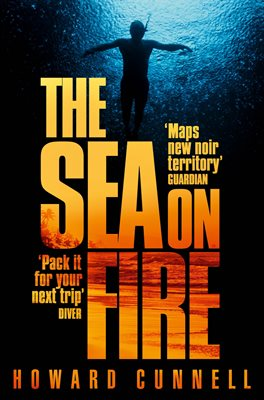 Book cover for The Sea on Fire