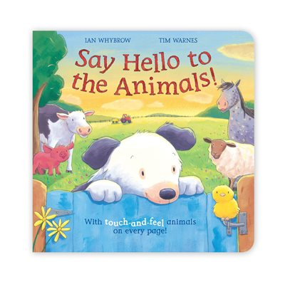 Book cover for Say Hello to the Animals