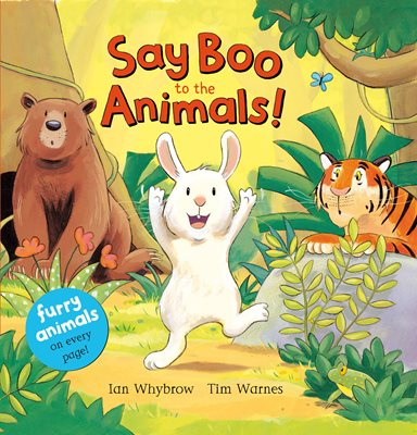 Book cover for Say Boo to the Animals!