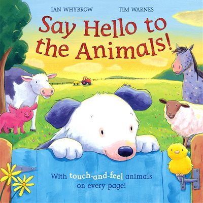 Book cover for Say Hello to the Animals!