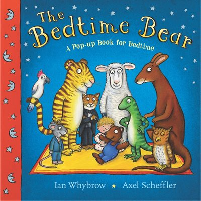 Book cover for The Bedtime Bear