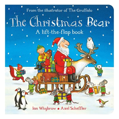 Book cover for The Christmas Bear