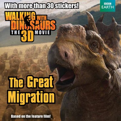 Book cover for Walking with Dinosaurs: The Great...