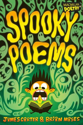 Book cover for Spooky Poems