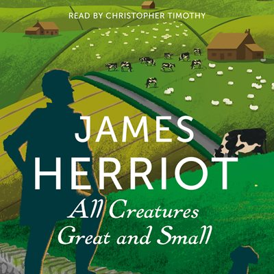 Book cover for All Creatures Great and Small