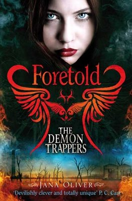Book cover for Foretold