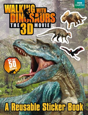 Book cover for Walking with Dinosaurs Sticker Book