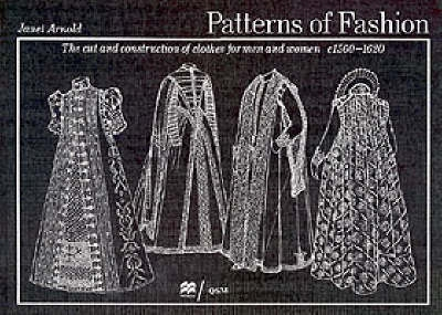 Book cover for Patterns of Fashion: C1560-1620