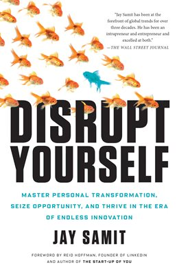 Book cover for Disrupt Yourself