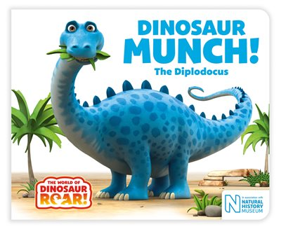 Book cover for Dinosaur Munch! The Diplodocus