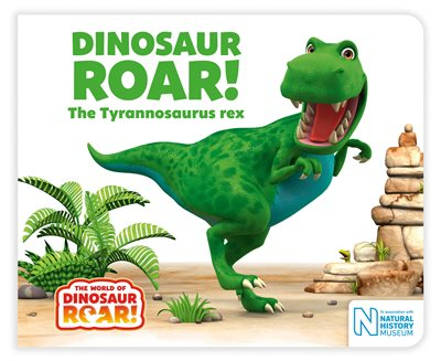 Book cover for Dinosaur Roar! The Tyrannosaurus rex