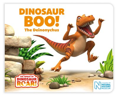 Book cover for Dinosaur Boo! The Deinonychus