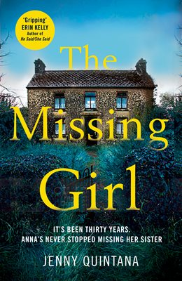 Book cover for The Missing Girl