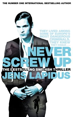 Book cover for Never Screw Up