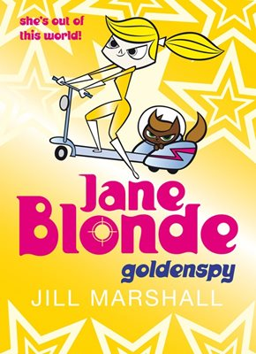 Book cover for Jane Blonde 5: Goldenspy