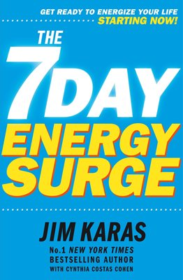 Book cover for 7-Day Energy Surge