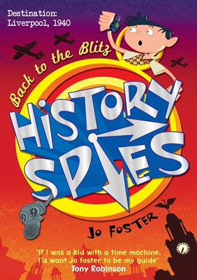Book cover for History Spies: Back to the Blitz