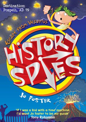 Book cover for History Spies: Escape from Vesuvius