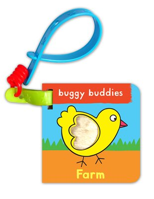 Book cover for Touch & Feel Buggy Buddies: Farm
