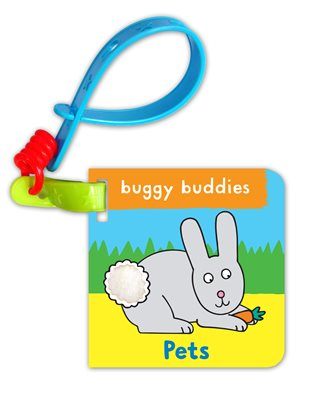 Book cover for Touch & Feel Buggy Buddies: Pets