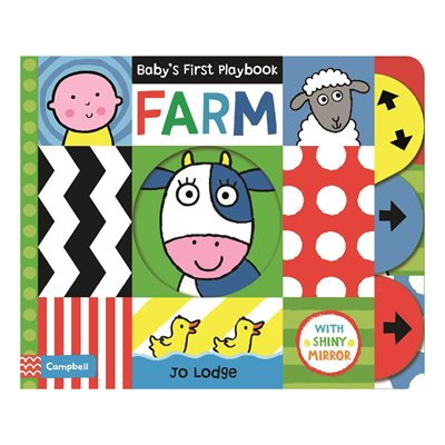 Book cover for Baby's First Playbook: Farm