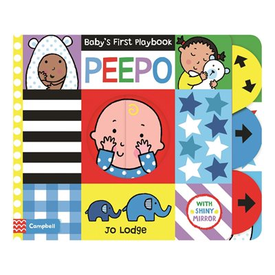 Book cover for Baby's First Playbook: Peepo