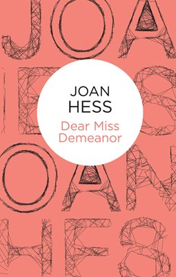 Book cover for Dear Miss Demeanor