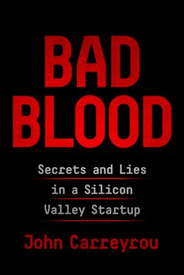 Book cover for Bad Blood