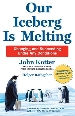 Book cover for Our Iceberg is Melting