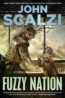 Book cover for Fuzzy Nation