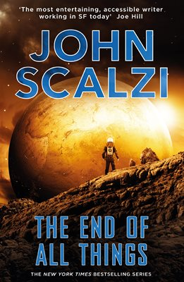 Book cover for The End of All Things