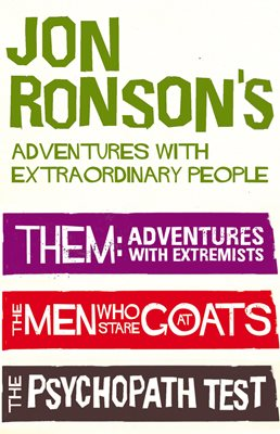 Book cover for Jon Ronson's Adventures With...