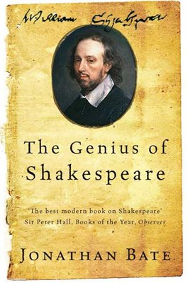 Book cover for The Genius of Shakespeare