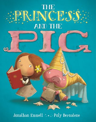 Book cover for The Princess and the Pig