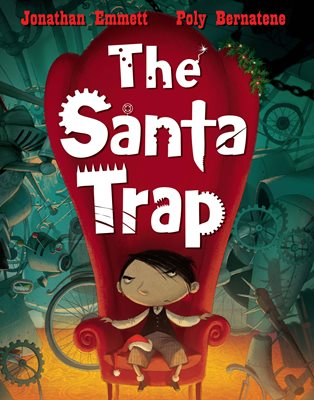 Book cover for The Santa Trap