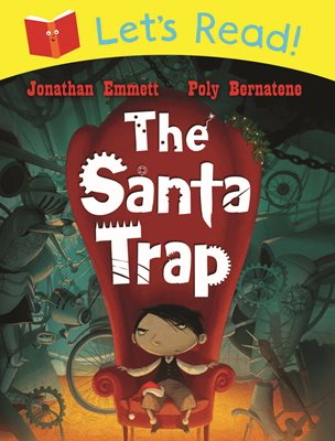 Book cover for Let's Read! The Santa Trap