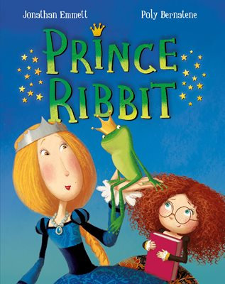 Book cover for Prince Ribbit