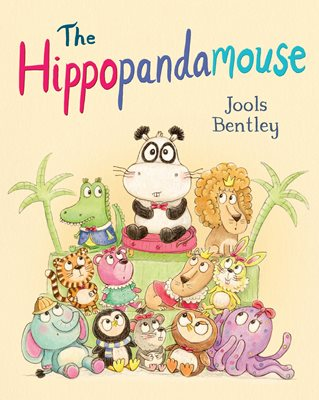 Book cover for The Hippopandamouse