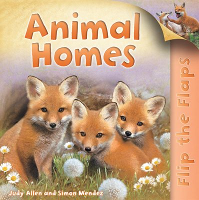 Book cover for Flip the Flaps: Animal Homes