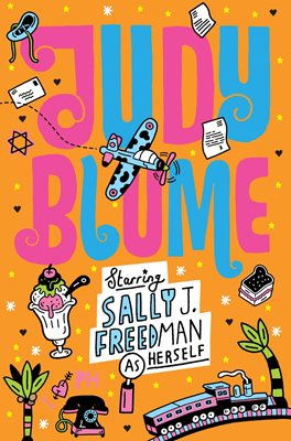 Book cover for Starring Sally J. Freedman as Herself