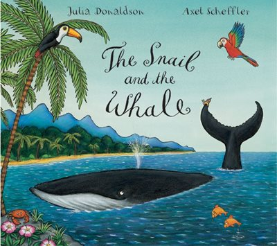 Book cover for The Snail and the Whale Big Book