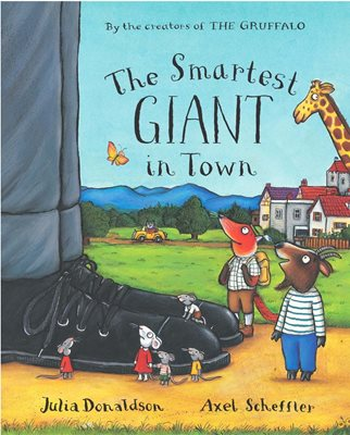Book cover for The Smartest Giant in Town Big Book