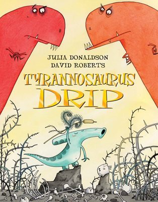 Book cover for Tyrannosaurus Drip