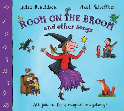 Book cover for Room on the Broom and Other Songs