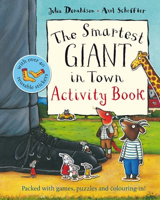 Book cover for The Smartest Giant in Town Activity Book