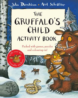 Book cover for The Gruffalo's Child Activity Book