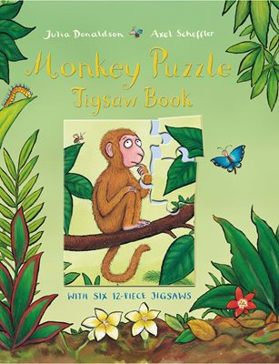 Book cover for Monkey Puzzle Jigsaw Book