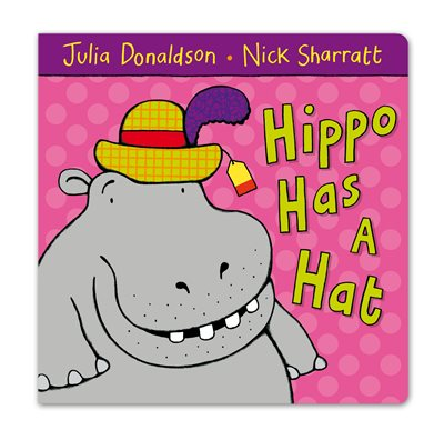 Book cover for Hippo Has A Hat