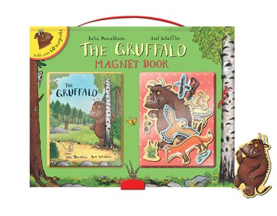 Book cover for The Gruffalo Magnet Book